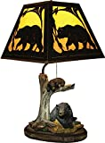 River's Edge Bear Table Lamp with Metal Shade Review