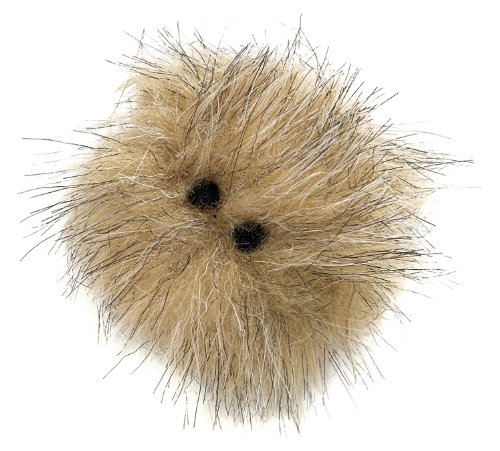 Image West Paw Design Hair Ball Catnip-Filled Cat Toy with Bell, Assorted