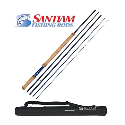 2 Travel Fly Rod (Santiam Fishing Rods 5-piece 11'2