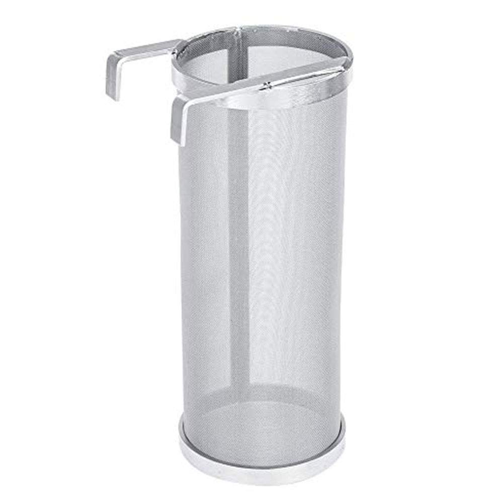 Brew Filter Anti-Corrosion Fire Resistant Drink Double Hook Homemade Accessories Stainless Steel Tool Mesh Easy Clean Strainer 300-400 Micron Beer Hop