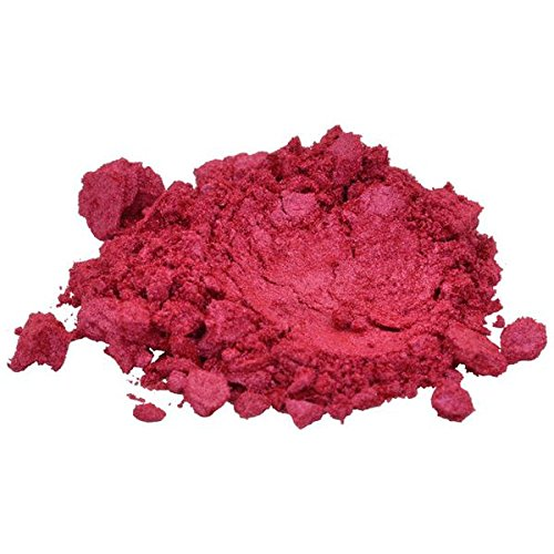True Red / Orange Luxury Mica Colorant Pigment Powder Cosmetic Grade Glitter Eyeshadow Effects for Soap Candle Nail Polish 1 oz, 30 g H&B Oils Center Co.