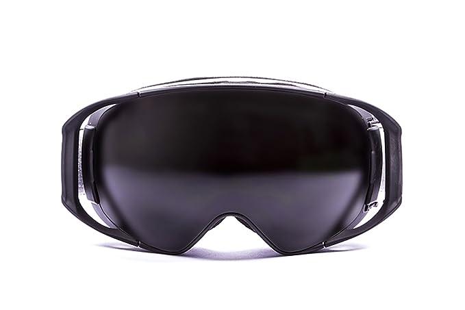 Ocean Sunglasses Snowbird - Masque - Monture : Noir - Verres : Fumée (YH3201.0) 62ldw