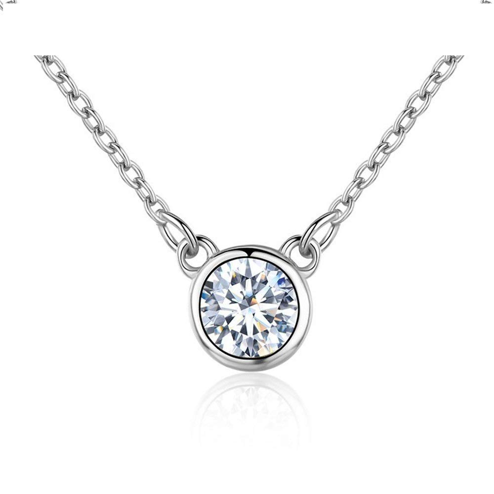 Crystal Jewelry GLEENECKLAC 925 Silver Necklace Pendant Necklace