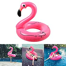 Inflatable Flamingo Swimming Pool Float Olycism inflatable Raft Outdoor Lounger and Cute Toy for the Swimming Pool or Beach for Adult Children