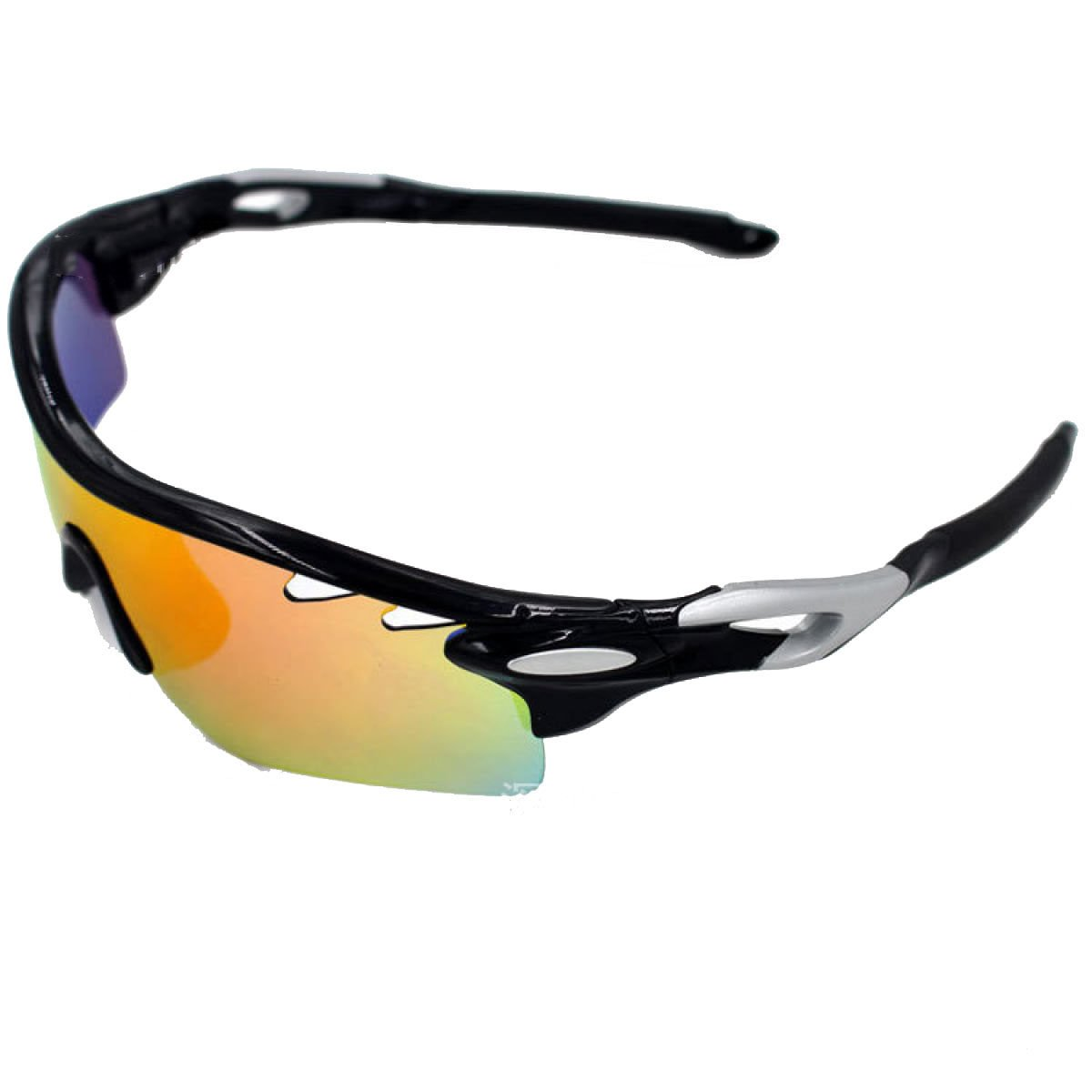 TZQ Riding Glasses Wind Mirrors Sports De Plein Air Lunettes De Soleil Polarisantes Lunettes De Ski Anti-buée,L
