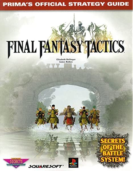 JAPAN Final Fantasy Tactics War of Lions Master Guide Book