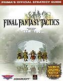 Final Fantasy Tactics, Elizabeth M. Hollinger and James Ratkos, 0761512462