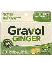 Gravol Ginger Chewable Lozenges, 20 Soft Lozenges