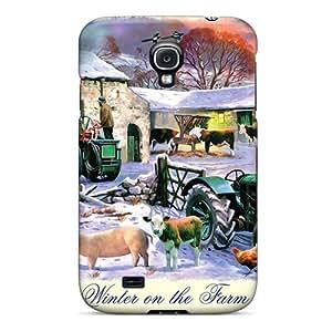 New Style BrandonSabado Winter On The Farm Premium Tpu Cover Case For Galaxy S4