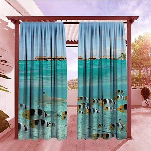 Cortina para Puerta corredera Ocean Decor Collection Big Starfish ...
