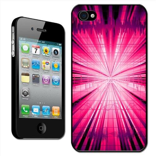 "Fancy A Snuggle Schutzhülle / Hard Case für iPhone 4/4S, Design ""Pink Explosion"""