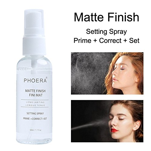 (Definition Makeup Spray Finish Matte Long Lasting Natural Oil Makeup Correction Spray 50 ml)
