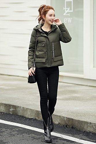 Generic 2018 winter hooded down jacket women short paragraph Korean fashion casual thick warm coat tide for women girl