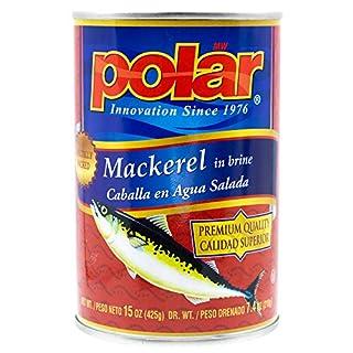 MW Polar Fish, Foods Jack Mackerel, 15-Ounce (Pack of 12) (2198)
