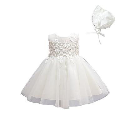 1412c5c91 Angel Legend Newborn Baby Girls Princess Christening Catholic Church Baptism  Dress with Bonnet