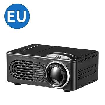 WHLDCD Proyector El Mini proyector portátil de Entretenimiento ...