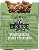 REDBARN Beef Tendon Dog Chew, Large, Naturals, 50 Count, 2 Pack Review