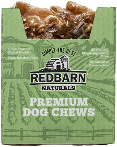 REDBARN Beef Tendon Dog Chew, Large, Naturals, 50 Count