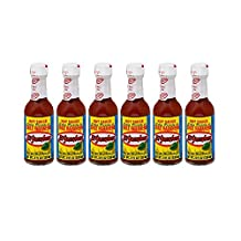 El Yucateco Chile Habanero Hot Sauce Red, 4 OZ (Pack of 6)