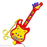 Smart Picks Guitar Musical Toy with Microphone (Color May Vary)