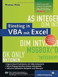 Einstieg in VBA mit Excel: Aktuell zu Excel 2007 (Galileo Computing)