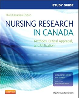 Nursing Research In Canada Methods Critical Appraisal And