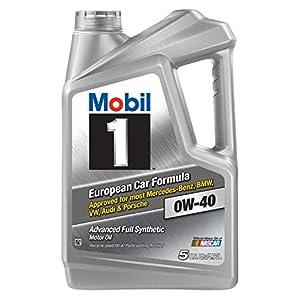 Mobil 1 120760 0W-40 Motor Oil, 5 Quart, Pack of 3