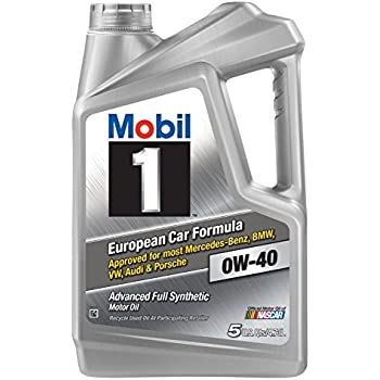 Mobil 1 (120760) 0W-40 Motor Oil, 5 Quart, Pack of 3