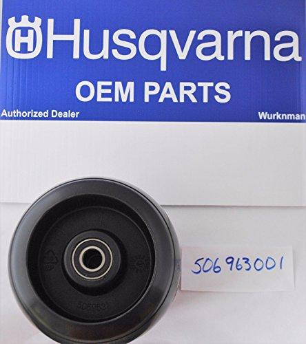 New Oem Husqvarna Deck Roller 506963001 / (Deck Roller Cart)