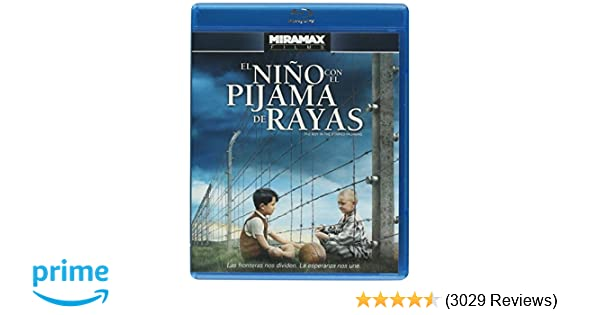 Amazon.com: El Niño Con El Pijama De Rayas (The Boy In The Striped Pajamas) English and Spanish Audio with Spanish Subtitles - IMPORT: Vera Farmiga, ...