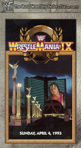 WWF WrestleMania IX [VHS]