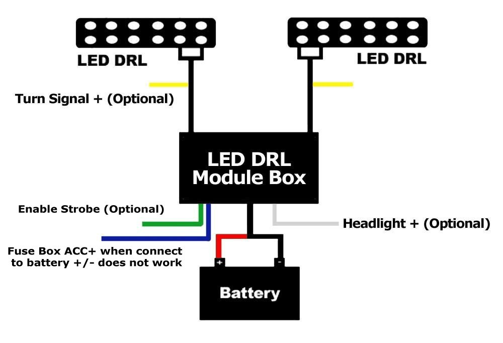 Wiring Diagram For Led Daytime Running Lights - Wiring ... on