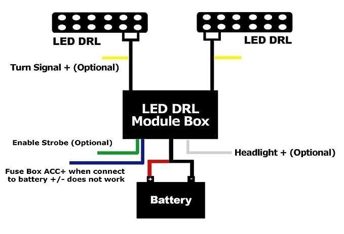 Daytime Running Light Module On Daytime Running Lights Relay Wiring on