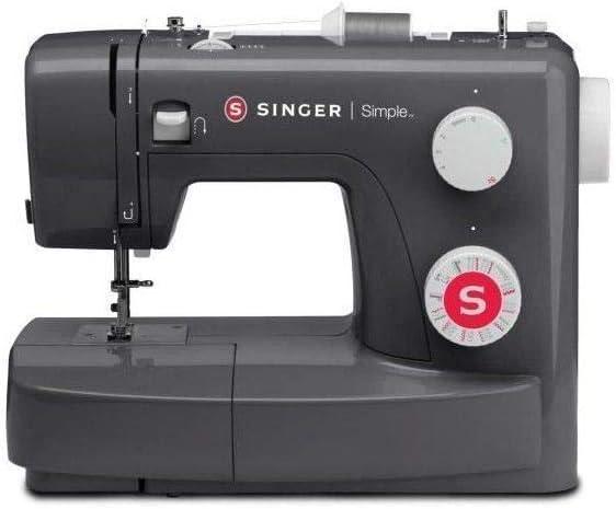 SINGER Machine a coudre SIMPLE 3223-23 programmes de points - Gris ...