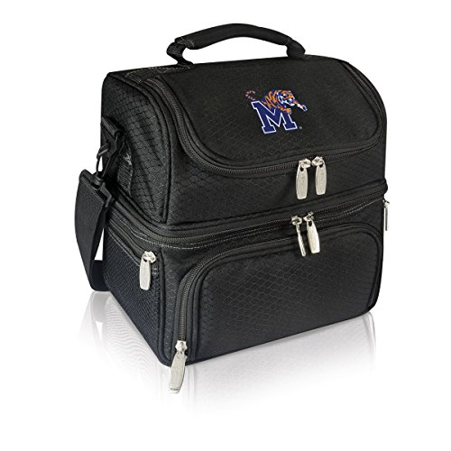 (NCAA Memphis Tigers Pranzo Insulated Lunch Tote, Black)