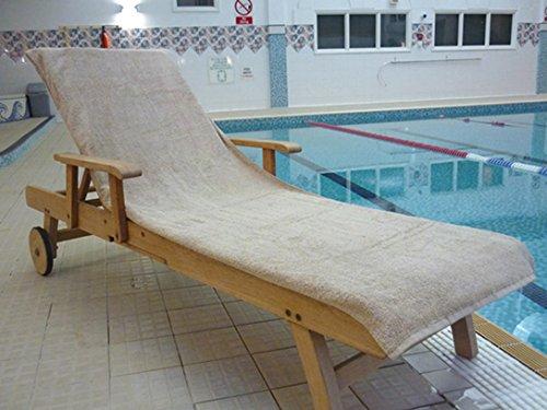 Bana Kuru cloro e resistente a figura intera asciugamano lettino prendisole con 30 centimetri lembo 500gsm a moka Buytowels.co.uk