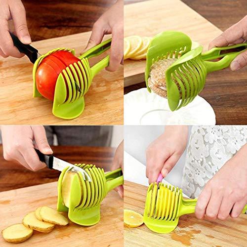 Baorin Handheld Lemon Tomato Slicer Tomato Egg Round Slice Clip Kitchen Fruit Splitter Fruit & Vegetable Tools