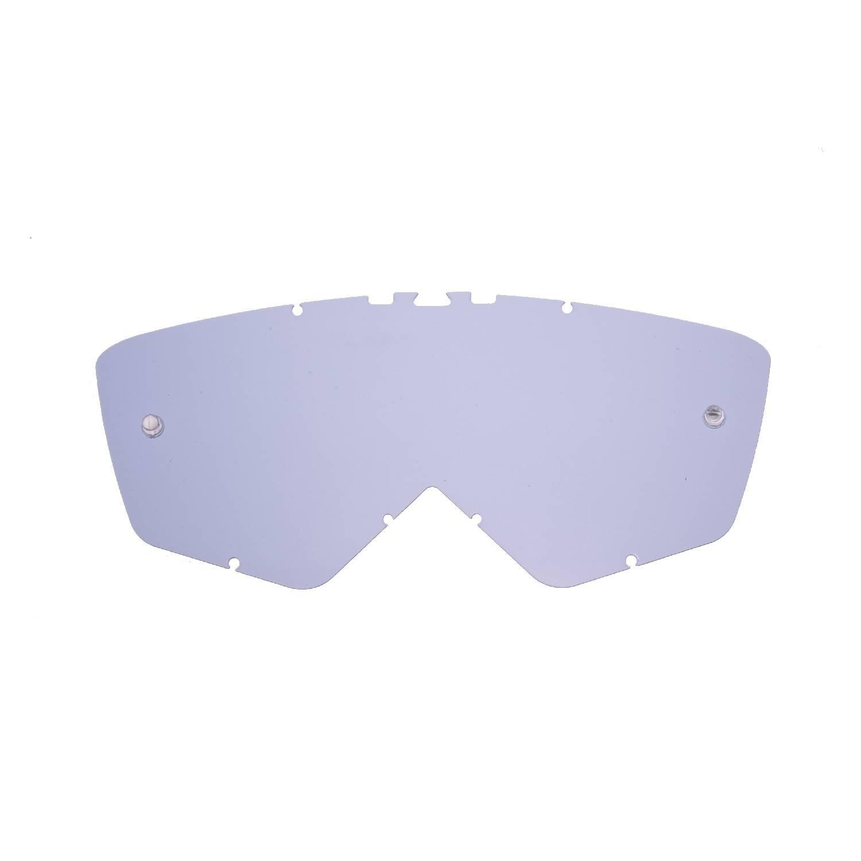 SeeCle 41Q106 lenti di ricambio per maschere argento specchiato compatibile con maschera Ariete Andrenaline RC07 Ride And Roll