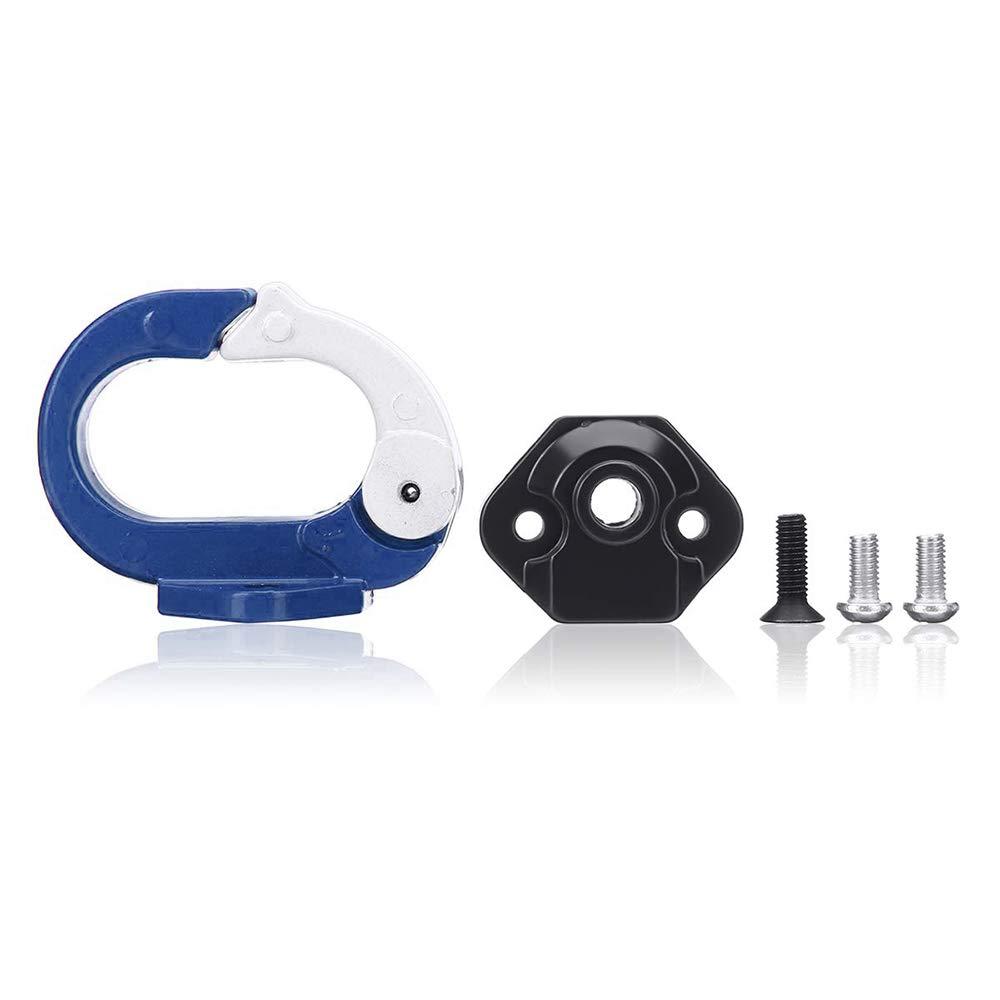 Konesky Kit de Montaje de Gancho de Aluminio Aptos para Xiaomi M365 Scooter el/éctrico Garra de suspensi/ón Adecuado Rack Gadget Accesorios