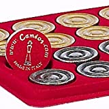 Bello Games Collezioni - Isabella Metal Backgammon Checkers From Italy