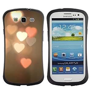 "Pulsar iFace Series Tpu silicona Carcasa Funda Case para SAMSUNG Galaxy S3 III / i9300 / i747 , Arte Luz Foto Vignette"""