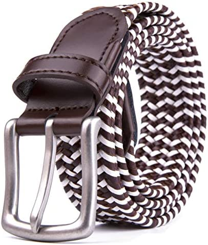 Woven Stretchy Braided Belts for Men & Women Golf Casual Belt