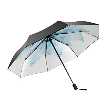 580399e54 Image Unavailable. Women's Folding Sun and rain Dual Umbrella/Parasol/Super  Sunscreen UV ...