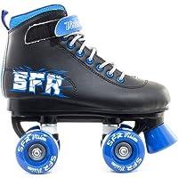 SFR Vision II Kinder Rollschuhe - Schwarz / Blau - 35.5