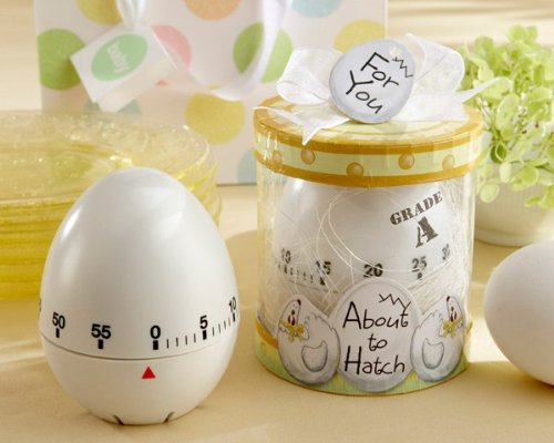 Kitchen Egg Timer Baby Shower (About to Hatch' Kitchen Egg Timer in Showcase Gift Box - 48 In)