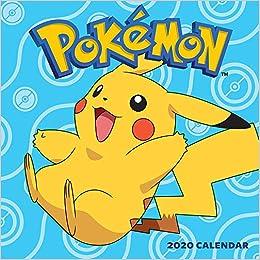 Pokemon Calendar 2020 Pokémon 2020 Wall Calendar: Pokémon: 9781419738395: Amazon.com: Books