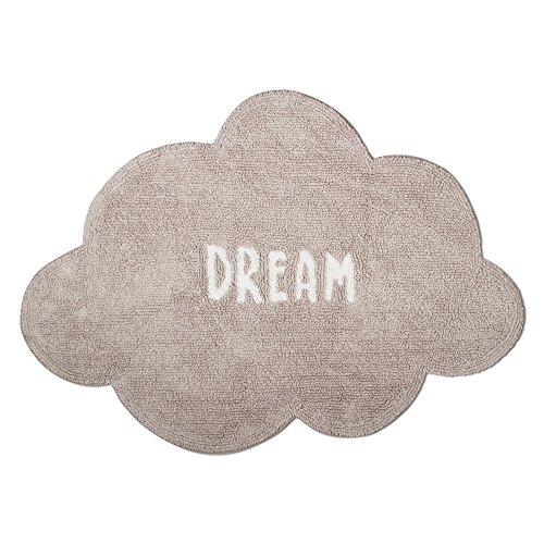 tag - Dream Cloud Shaped Rug, Add Some Style to Your Home, Gray by tag