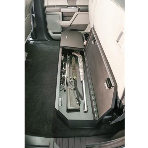 2015+ Ford F-Series SuperCrew Under Rear Seat - Seat Lock Under Box