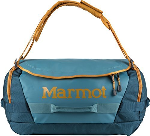 Marmot Long Hauler Duffel Bag, Medium, Neptune/Denim, One Size, 29250-3953-ONE