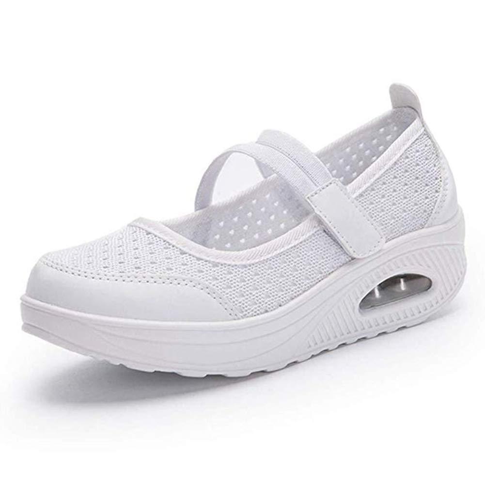Fashion Nurse Shoes Ladies Air Cushion White Sneakers Women Platform 2018 New Lolita Shoes Swing White